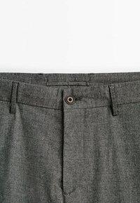 Massimo Dutti - SLIM-FIT - Trousers - grey - 2