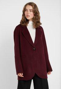 Vanessa Bruno - MARC - Zimní kabát - aubergine - 0