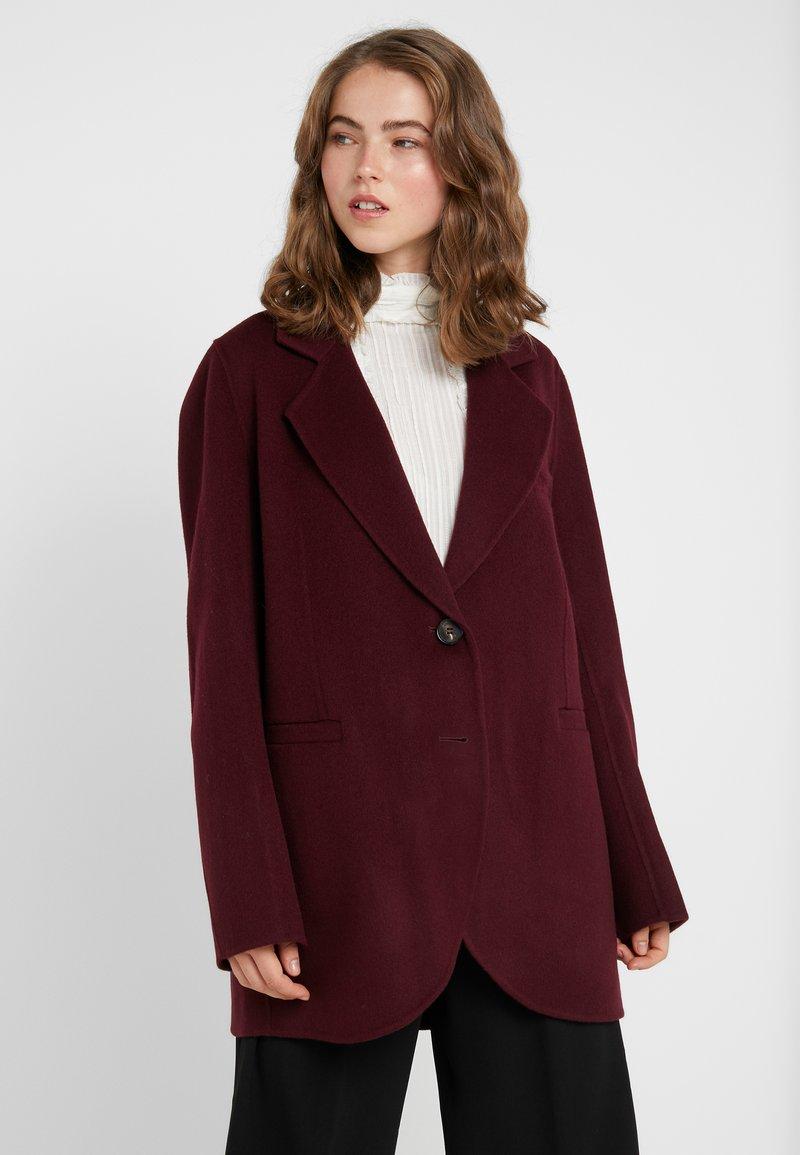 Vanessa Bruno - MARC - Zimní kabát - aubergine