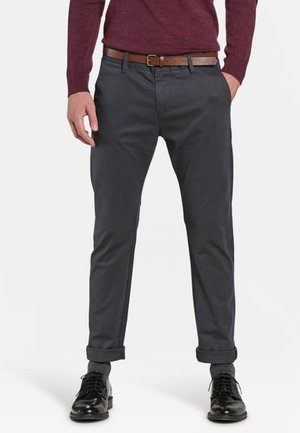 Chinos - dark bright grey