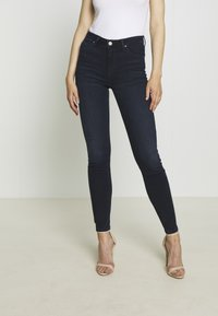 Lee - SCARLETT HIGH - Jeansy Skinny Fit - worn ebony - 0