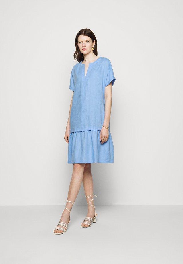 Robe d'été - vista blue