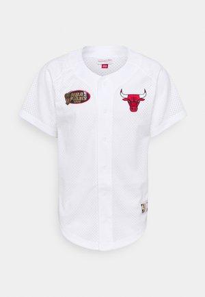 NBA CHICAGO BULLS BASEBALL - Club wear - white