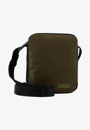 PRO MINI REPORTER - Across body bag - green