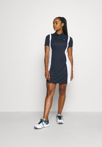 Peak Performance - ALTA BLOCK DRESS - Sports dress - blue shadow/white - 1