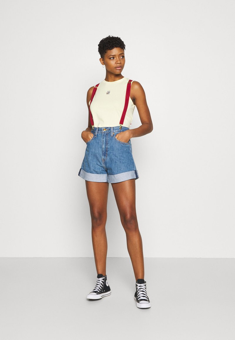 Levi's® - POKEMON MISTY'S - Shorts di jeans - cerulean blue