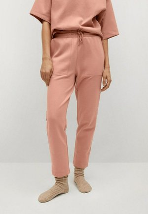 Tracksuit bottoms - rose pastel