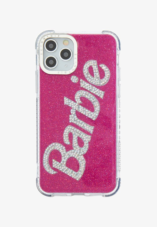 BARBIE X SKINNYDIP BLING LOGO SHOCK CASE - IPHONE X/XS / 11 PRO - Telefoonhoesje - pink