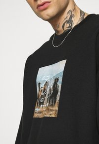 Mennace - TROOP  - Sweatshirt - black - 5