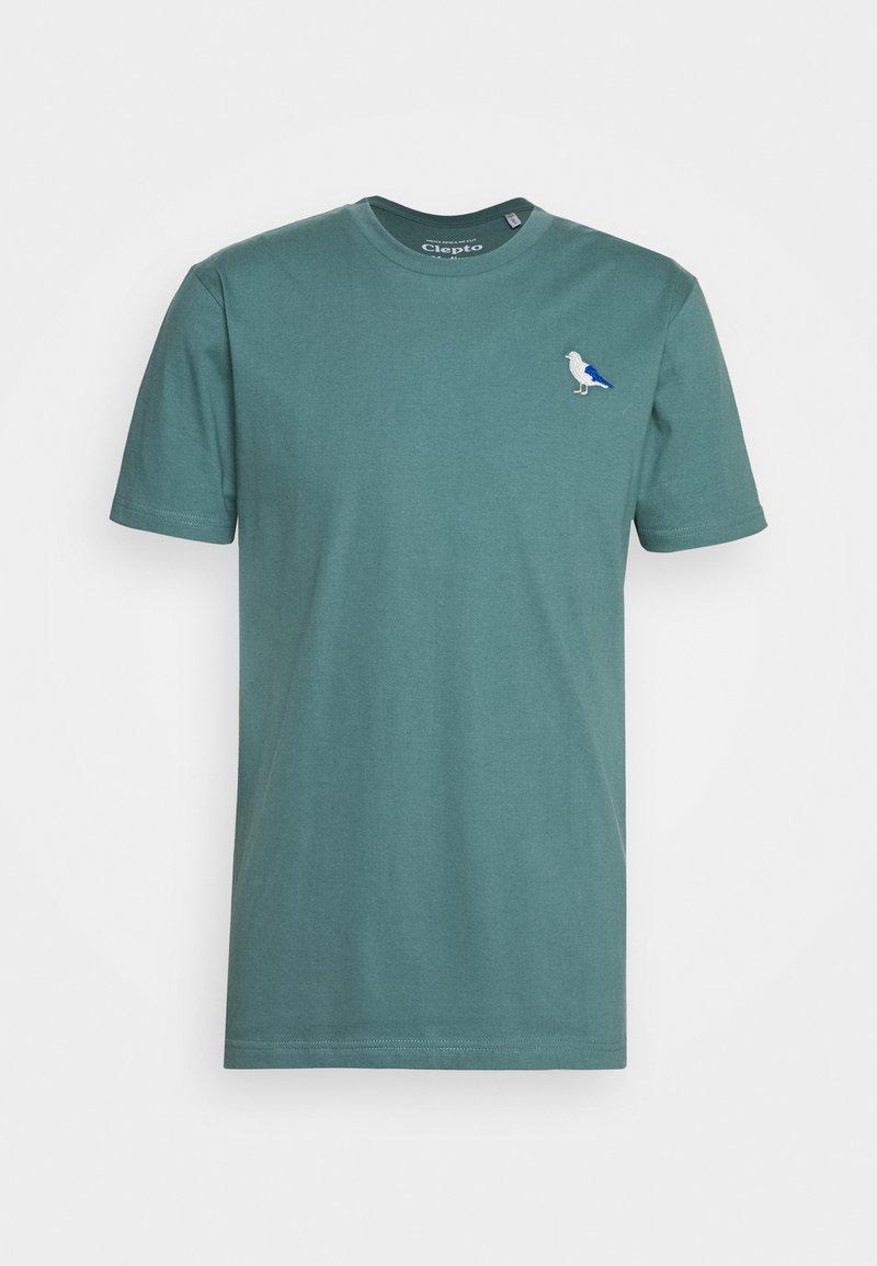 Cleptomanicx - EMBRO GULL - Print T-shirt - north atlantic