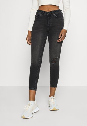VMHANNA - Jeans Skinny Fit - dark grey denim