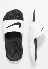 Nike Performance - KAWA  - Pool slides - white/black - 0