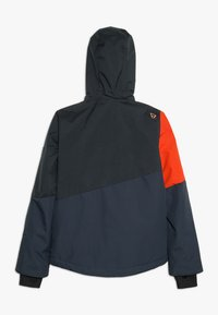 Brunotti - IDAHO BOYS SNOWJACKET - Kurtka snowboardowa - red/dark blue - 1