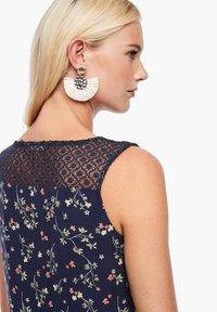 s.Oliver - Day dress - dark blue aop mini flowers - 4
