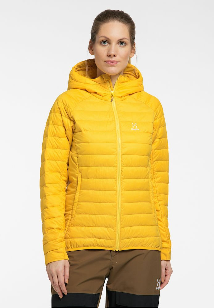 Haglöfs - Winter jacket - pumpkin yellow