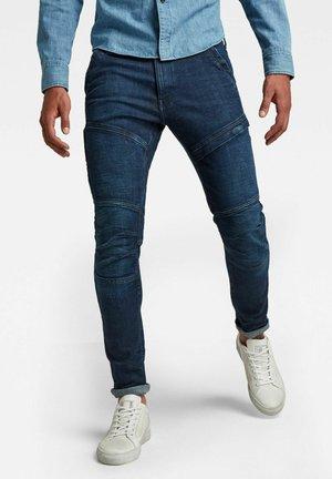 RACKAM 3D SKINNY - Slim fit jeans - worn in ultramarine