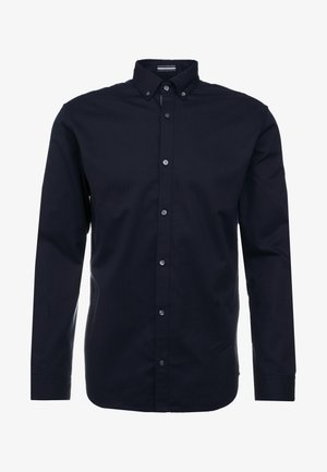 JPRFOCUS SOLID SHIRT SLIM FIT - Camicia - navy blazer