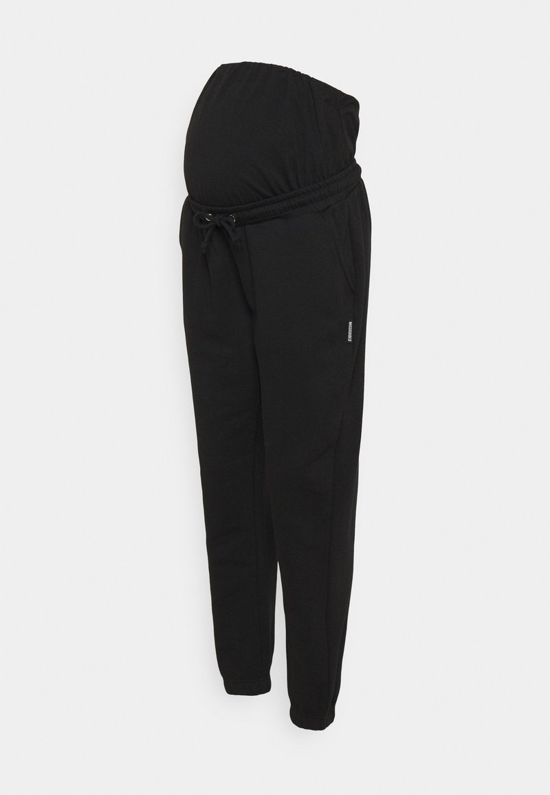 Missguided Maternity - Tracksuit bottoms - black