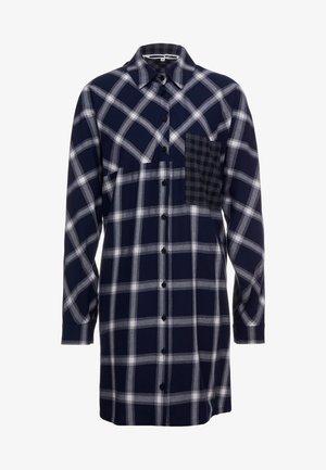 DRAPEY - Robe chemise - black