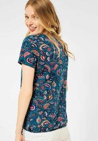 Cecil - MIT PAISLEY - Print T-shirt - blau - 2