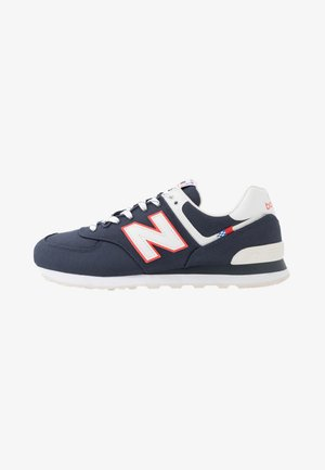 574 - Sneakersy niskie - navy/white