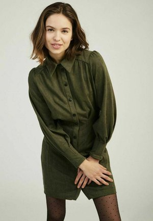 FERRET - Shirt dress - green
