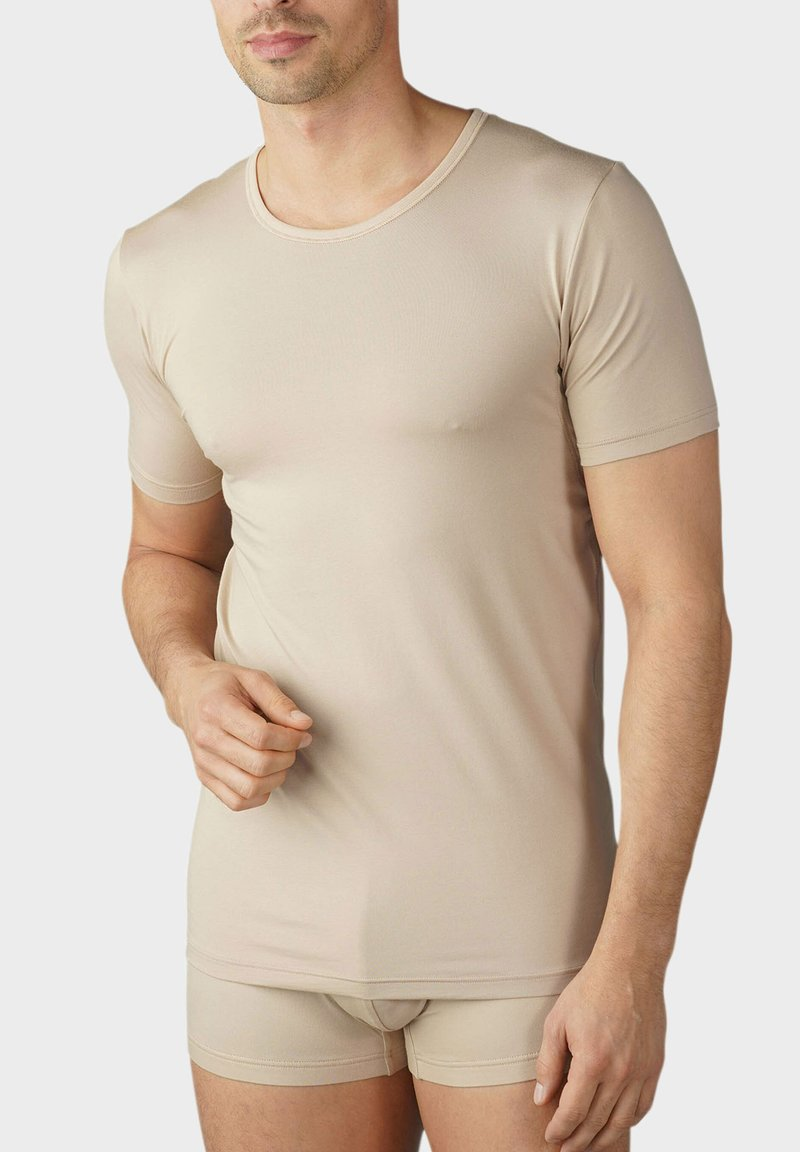 mey - DAS DRUNTERHEMD ATMUNGSAKTIV & UNSICHTBAR - Undershirt - light skin
