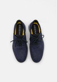 Cole Haan - ORIGINALGRAND ULTRA WING - Sznurowane obuwie sportowe - marine blue/black/harbor mist/true blue - 3