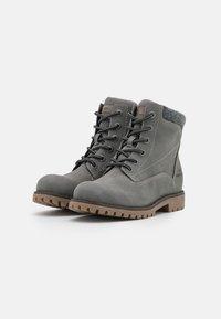 TOM TAILOR - Veterboots - grey - 2