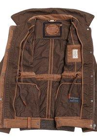 Naketano - Summer jacket - brownie - 3