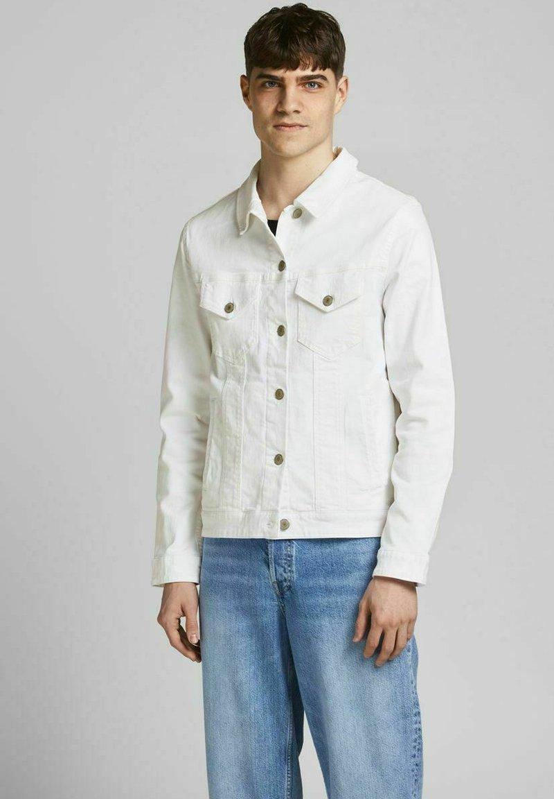 Jack & Jones - Denim jacket - white