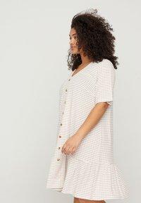 Zizzi - Shirt dress - white - 2