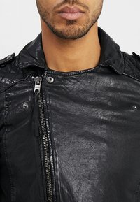 Tigha - ELON - Leather jacket - black - 4