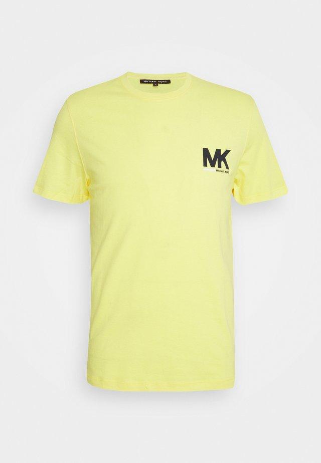 SPORT LOGO TEE - T-shirt imprimé - meringue