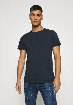 CREW TEE 3 PACK - Basic T-shirt - black/white/navy