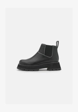 KATE SHORT LUG SOLE COMBAT  - Korte laarzen - black