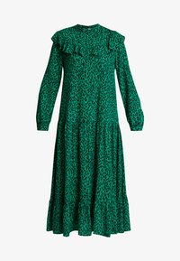 Topshop - YOKE CHUCKON MIDI   - Day dress - green - 4