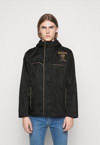MOSCHINO - JACKET - Summer jacket - fantasy black - 0