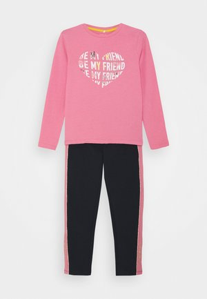 NMFLABILLA BOX SET - Tracksuit bottoms - wild rose