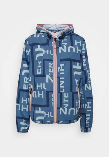 WOMENS ORIGINAL SHELL JACKET - Summer jacket - gill wave exploded logo print