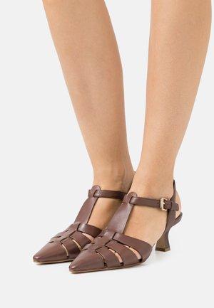 Klasické lodičky - brown