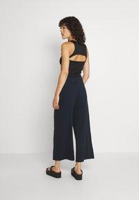 Monki - Trousers - blue dark - 2