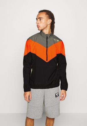 TRAIN FIRST MILE XTREME JACKET - Trainingsjacke - ultra gray/ultra orange/black