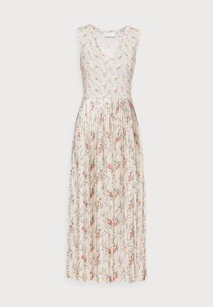 DRESS PRINTED - Maxi dress - white stone