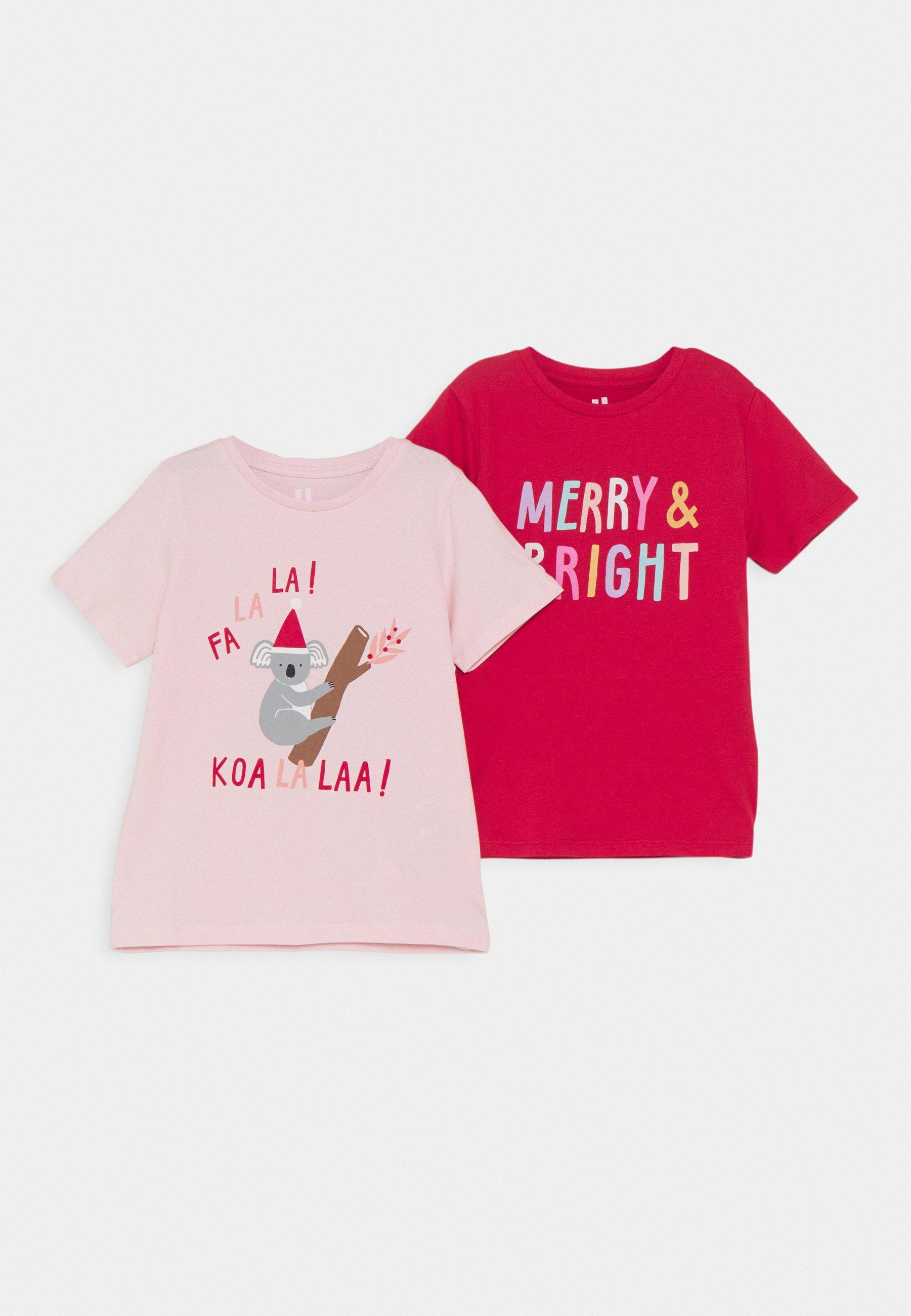 Kids PENELOPE SHORT SLEEVE TEE 2 PACK - Print T-shirt