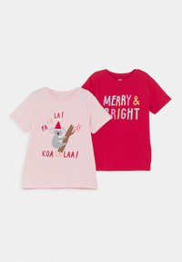 Cotton On - PENELOPE SHORT SLEEVE TEE 2 PACK - T-shirts print - multi coloured - 0
