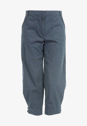 Trousers - dunkel grun