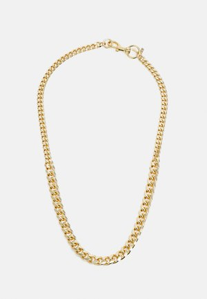 CONVERTIBLE CURB CHAIN NECKLACE - Halskæder - gold-coloured