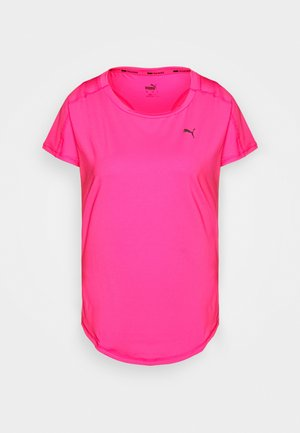 TRAIN FAVORITE TEE REGULAR FIT - T-Shirt basic - pink