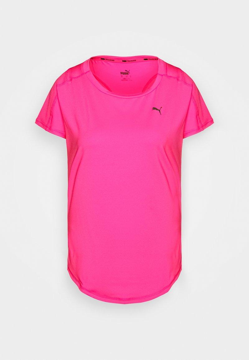 Puma - TRAIN FAVORITE TEE REGULAR FIT - T-Shirt basic - pink